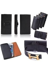 Leather case for Iphone 6+/7+/8+ Kelowna, V1X 4G2