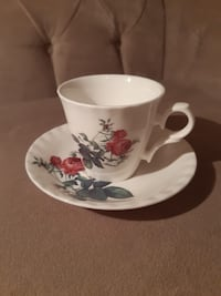 Bone china england porselen fincan