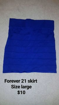 Blue forever 21 skirt  564 km