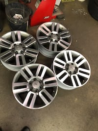 "Toyota 4 Runner stock 20"" Rims North Vancouver, V7P 3R5"