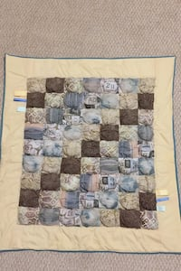 Bubble baby quilt