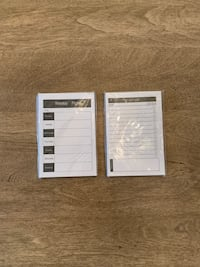 Paper notepads: weekly plan & to do list! Calgary, T2E 0H4