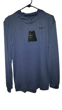NWT Men Hooded Nike Shirt M Burnaby