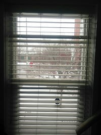 white venetian blinds Toronto, M4M 3G3
