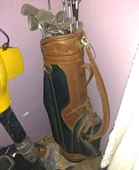 brown and black leather golf bag East Alton, 62024