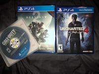 two Sony PS4 game cases Saint Petersburg, 33702