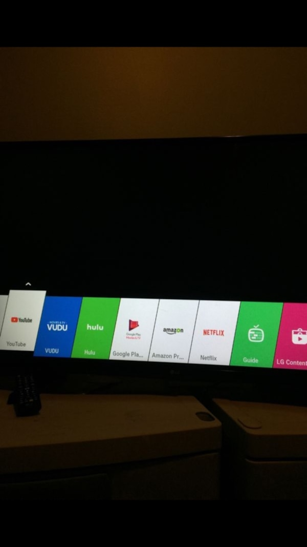 black flat screen TV screenshot