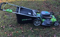 Lawn mower. rarely used. still in great condition.