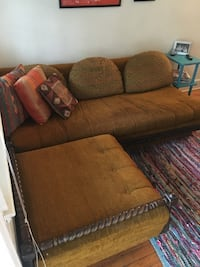 Vintage couch and chaise Virginia Beach, 23451