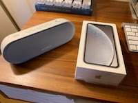 NEW Apple White iPhone XR 256GB Unlocked with Portable Speaker San Francisco, 94116