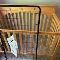 Crib, changing table, secretary chest Owings Mills, 21117