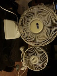 Two small sized fans excellent condition  Port Moody, V3H