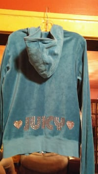Girls juicy couture hooded jacket size large 304 mi