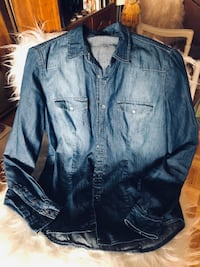 William Blast xtra small denim fitted blouse Ottawa, K1J 7V7