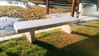 Marble bench from the Rio Bravo Golf course Bakersfield, 93309