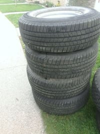 New Winter Tires on rims St. Catharines, L2P 3R6