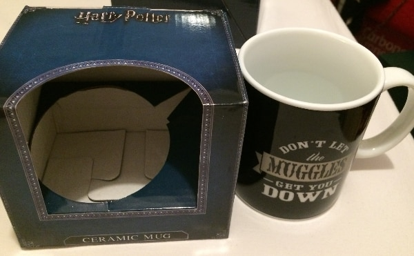 Taza Muggies de Harry Potter