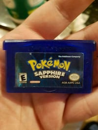 pokemon Sapphire Nintendo gameboy advance game