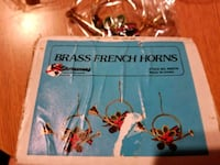 Brass french horns ornaments West Islip, 11795