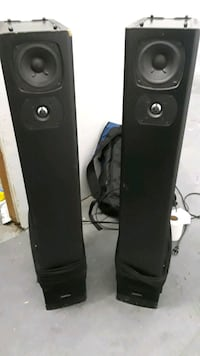 2 Definitive Tech. Bi Polar Super Tower Speakers  Riverside, 92501