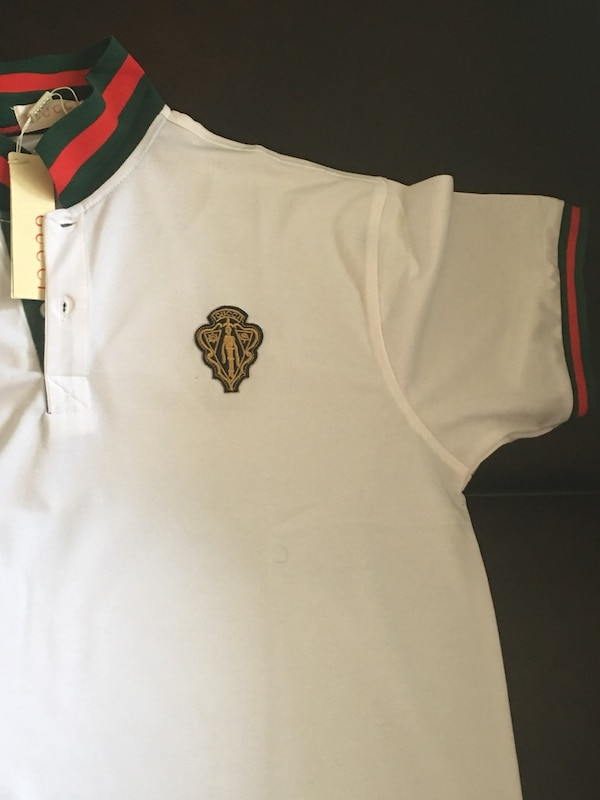 3f9e5b34961 Used white gucci polo shirt for sale in Montclair - letgo