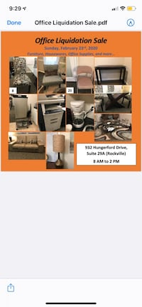 Moving sale Rockville, 20850
