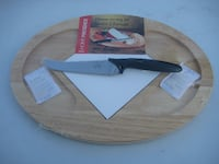 New Cheese board w Knife null