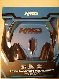 KMD Pro Gamer Wired Headset For Playstation 4 Severn, 21144