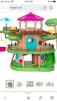 Li'l woodzeez tree house play set