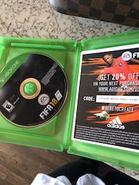 Xbox One EA Sports FIFA 17 game case Long Beach, 90815