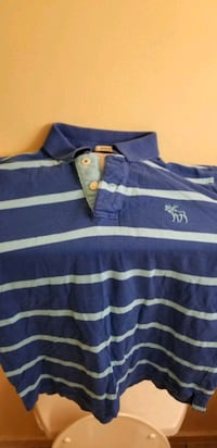a & f 2 button polo ss shirt