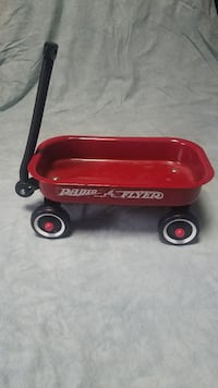 Vintage miniature Radio Flyer wagon, prop Grand Rapids, 49507