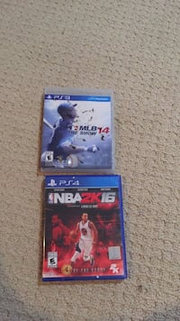 two PS4 game cases and one game case Toronto, M4J 3Y4
