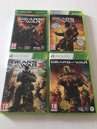 4st Xbox 360 spel - Gears of War Kareby, 442 93
