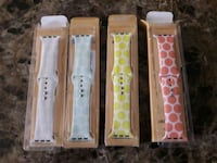 BRAND NEW SWEES SILCONE POKADOT APPLE WATCH BANDS  Los Angeles, 91307