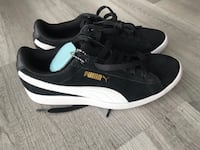 Puma brand new sneakers black white soft foam authentic  Gaithersburg, 20879
