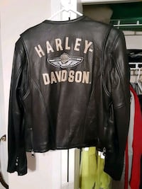Womens L Harley leather jacket