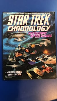 Star Trek Chronology the history of the future by Michael Okuda and Denise Okuda Mooresville, 28117