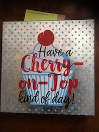 Cherry On Top Kind Of Day Metal Wall Decor Scarborough, Toronto, ON, Canada