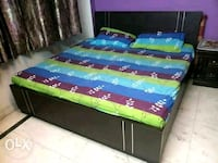 Double bed with mattress Delhi, 110034