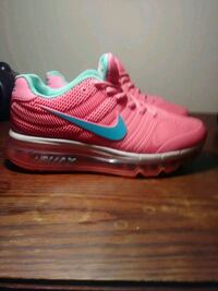 Pink and green  Nike Air Max shoe Augusta, 30906