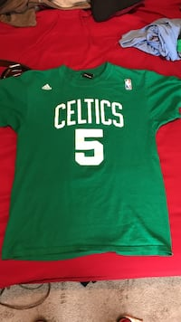 Green and white celtics basketball jersey La Vergne, 37086