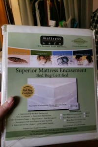 Bed bug protection for mattresses and boxspring