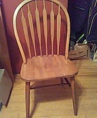 brown wooden windsor chair Port Tobacco, 20677
