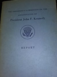 The presidents commission on the assassination of President John f Kennedy Wilmington