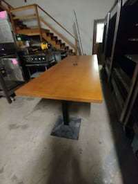 Conference Table 9' x 3 1/2'