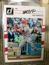 Angels Mike Trout insert card Paramount, 90723