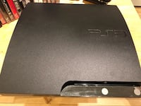 Ps3 with 2 controllers with stand charger and all the CD