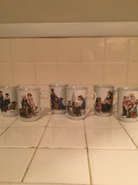 Norman Rockwell Coffee Cups Augusta, 30909