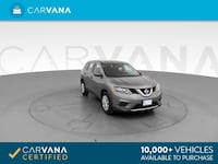 2016 *Nissan* *Rogue* S Sport Utility 4D hatchback Gray Chattanooga, 37402